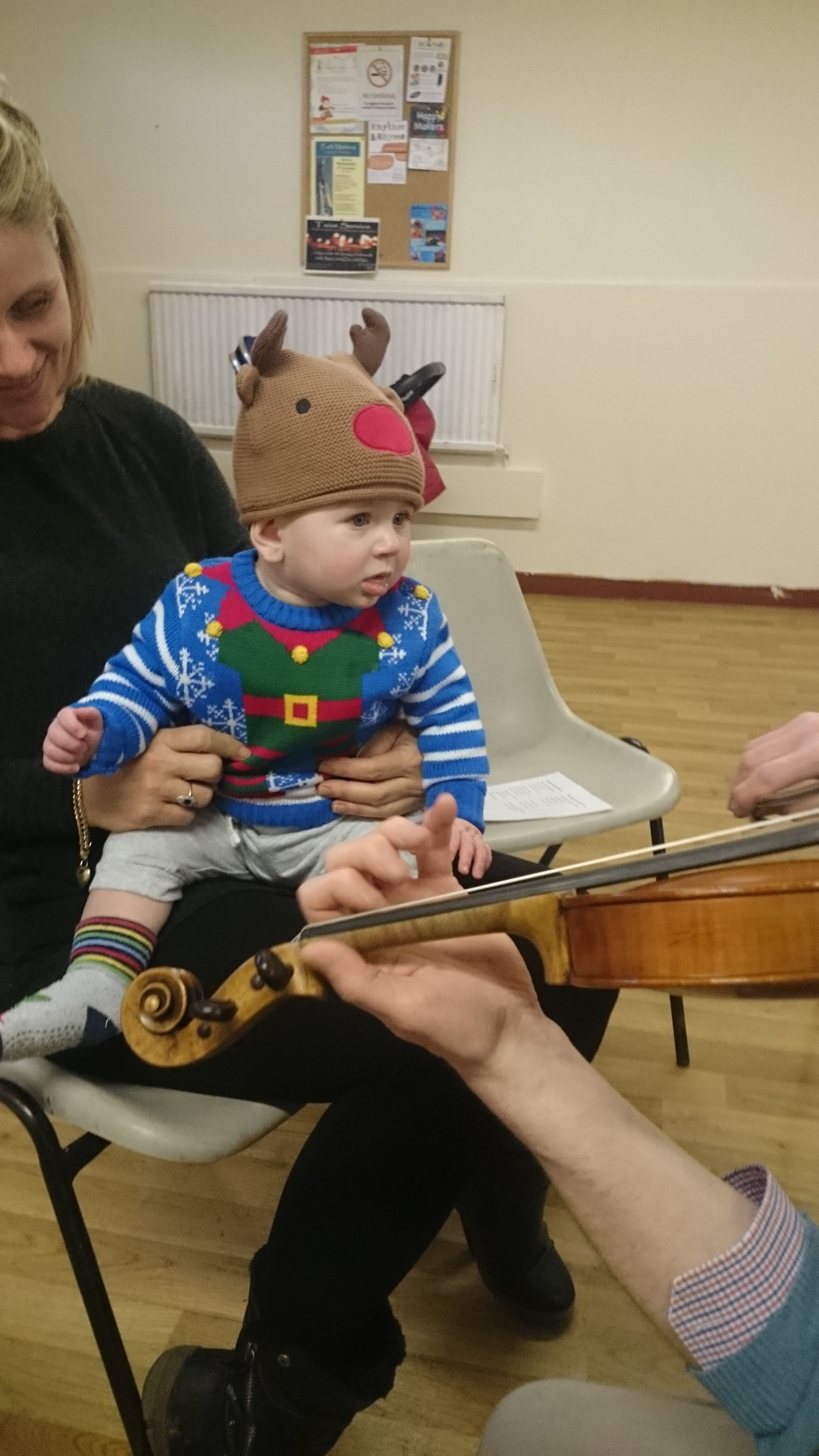 Playing Bach for babies